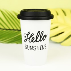 'Hello Sunshine' Travel Mug