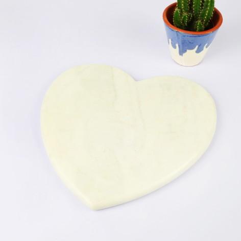 Sass & Belle Marble Heart Chopping Board