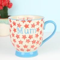 Sass & Belle Bohemian Stars 'Mum' Mug