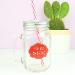 Sass & Belle 'Amazing' Mason Jar