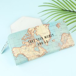 Sass & Belle 'Big Adventures' Map Wallet