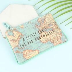 Sass & Belle 'Big Adventures' Map Purse