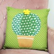 Lisa Angel Sass & Belle Green Colourful Cactus Cushions