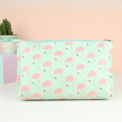 Sass & Belle Flamingo Wash Bag