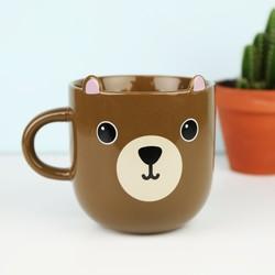 Momo Bear Kawaii Mug