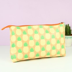 Sass & Belle Pineapple Print Wash Bag