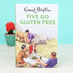 Enid Blyton 'Five Go Gluten Free' Book