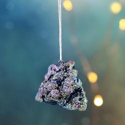 Celestial Aura Quartz Rock Hanging Decoration