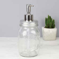 Temerity Jones Mason Jar Soap Dispenser