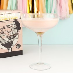 Temerity Jones Large Pink Fizz Cocktail Candle