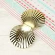 Temerity Jones Ladies' Gold Shell Compact Mirror at Lisa Angel