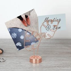 Umbra Copper Leaf  Memo Holder