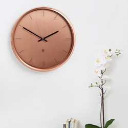 Umbra Meta Copper Wall Clock