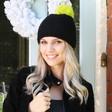 Lisa Angel Ladies' Interchangeable Woolly Hat Pom Pom