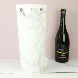 Marble Effect Bottle Bag