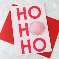 Bomb Cosmetics 'Ho Ho Ho' Blaster Card
