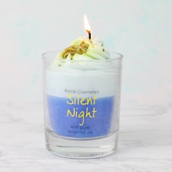 Bomb Cosmetics 'Silent Night' Scented Piped Candle