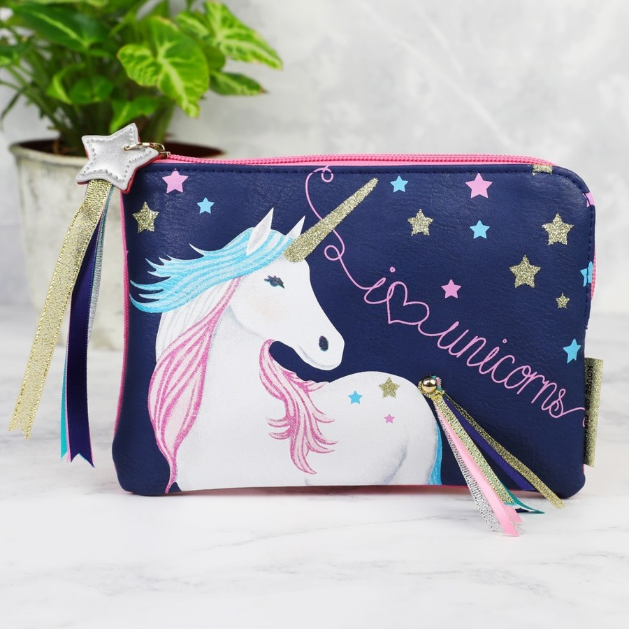 House Of Disaster Candy Pop Unicorn Zip Purse Lisa Angel