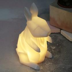 House of Disaster Mini LED Origami Rabbit Night Light