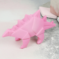 House of Disaster Mini LED Origami Stegosaurus Dinosaur Night Light