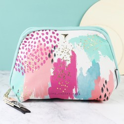 House of Disaster Paint Pattern Make Up Bag