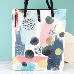 House of Disaster Paint Pattern Tote Bag