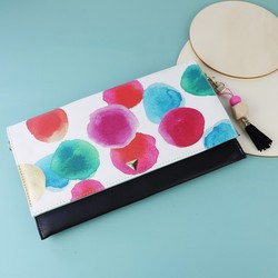 House of Disaster Paint Spot Clutch Bag