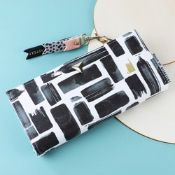 House of Disaster Paint Stroke Wallet