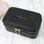 Estella Bartlett Black Mini Jewellery Box