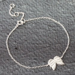 Sterling Silver Wings Bracelet