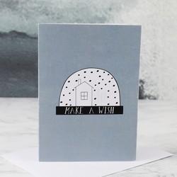 'Make a Wish' Snow Globe Card
