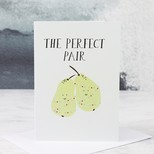 'Perfect Pair' Christmas Card