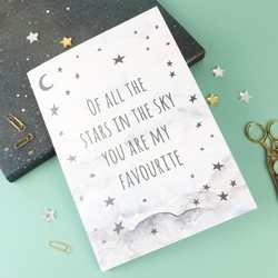 Starry Nights 'Of All The Stars' A5 Notebook