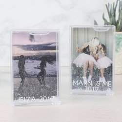 Personalised Small Glittery Photo Frame