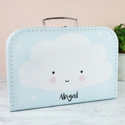Personalised A Little Lovely Company Cloud Suitcase