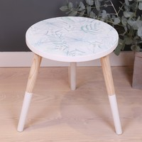 Large Botanical Side Table