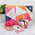 Lisa Angel with Ladies' Mad Beauty Geometric 12 Days of Christmas Advent Calendar