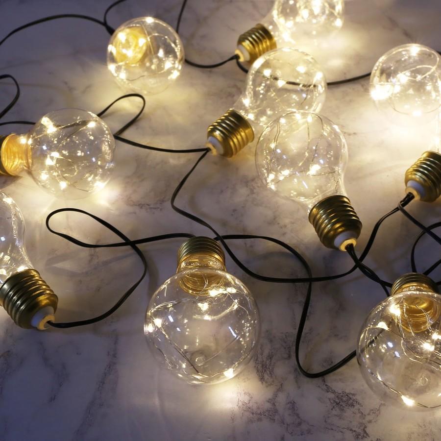 Light Bulb String Lights Home Lighting Lisa Angel