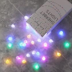 Mains Powered LED Sherbet String Lights