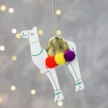 Meri Meri Felt Camel Hanging Decoration