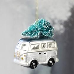 Campervan & Christmas Tree Bauble