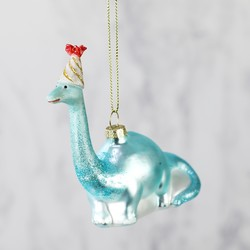 Party Dinosaur Bauble
