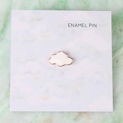 Cloud Enamel Pin