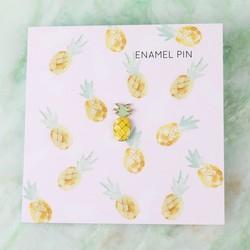 Tropical Pineapple Enamel Pin