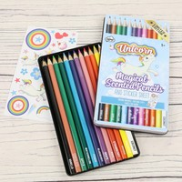 Unicorn Magical Scented Pencils
