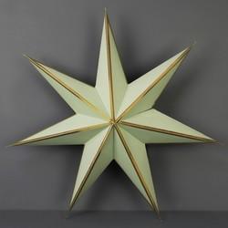 Medium Paper Star Decoration in Green