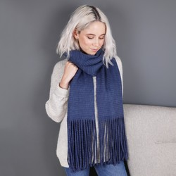 Powder Design Thick Isla Scarf in Navy