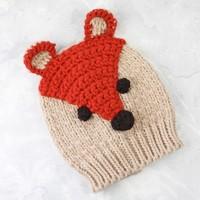 Powder Design Mr Fox Baby Hat