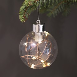 Copper Wire LED Bauble