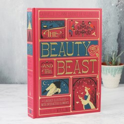 The Beauty and The Beast Book (Illustrated with Interactive Elements)